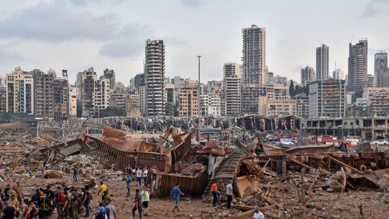 """贝鲁特""""灾难性""""爆炸 至少百人死亡逾4千人伤"""