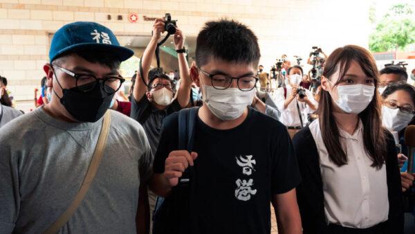 黃之鋒被捕獲保釋 批警方「沒事找事」