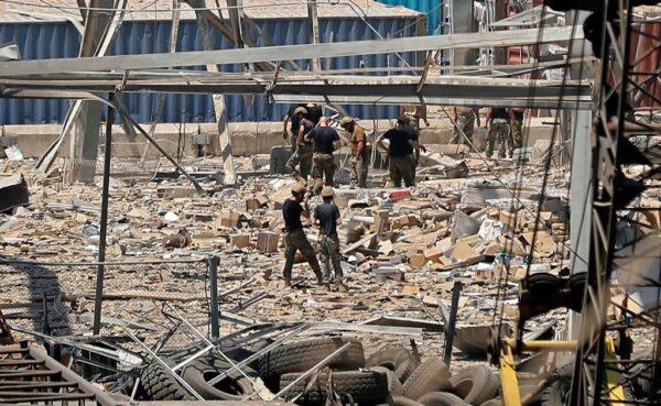 贝鲁特大爆炸 增至135死约5000人伤