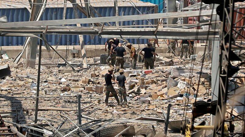 貝魯特大爆炸 增至135死約5000人傷