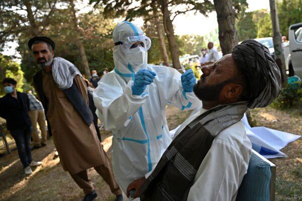 阿富汗政府:估計全國1000萬人染疫