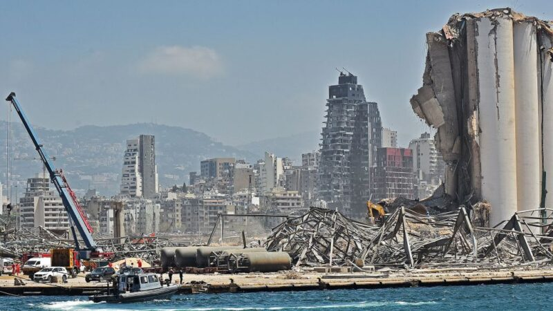 貝魯特大爆炸相當3.3地震 遺留43米深坑洞