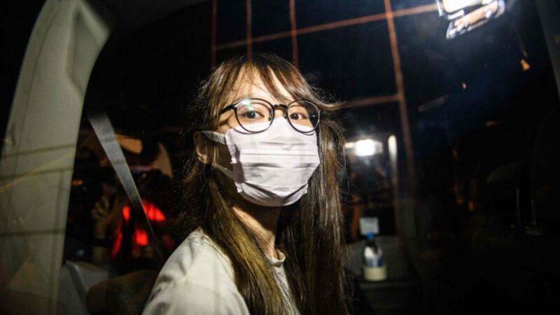 周庭被捕引发日本声援热潮 黄之锋公布惊人数据