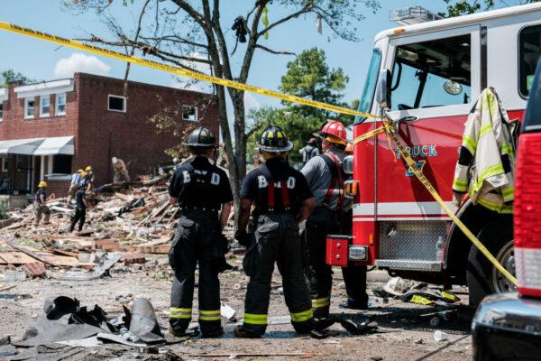 巴尔的摩瓦斯爆炸 房屋被夷平至少1死3伤5受困