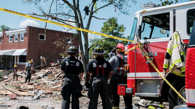 巴爾的摩瓦斯爆炸 房屋被夷平至少1死3傷5受困