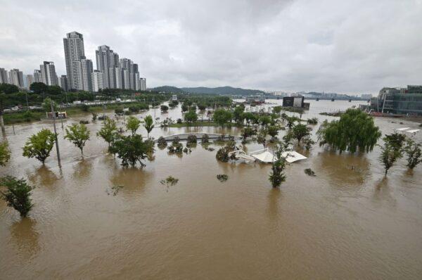 韩国最长梅雨季 冲走边境地雷 恐成安全未爆弹