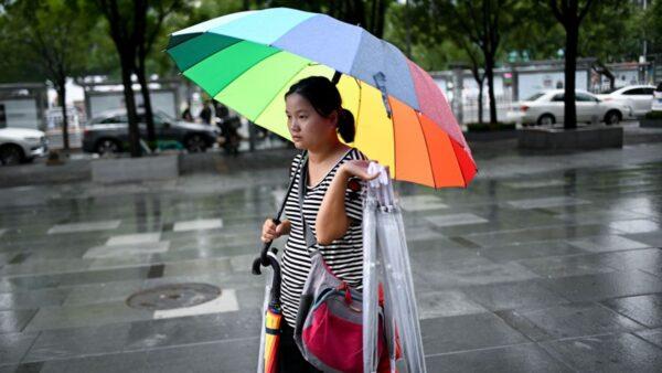 北京暴雨 長安街開啟「看海」模式(視頻)