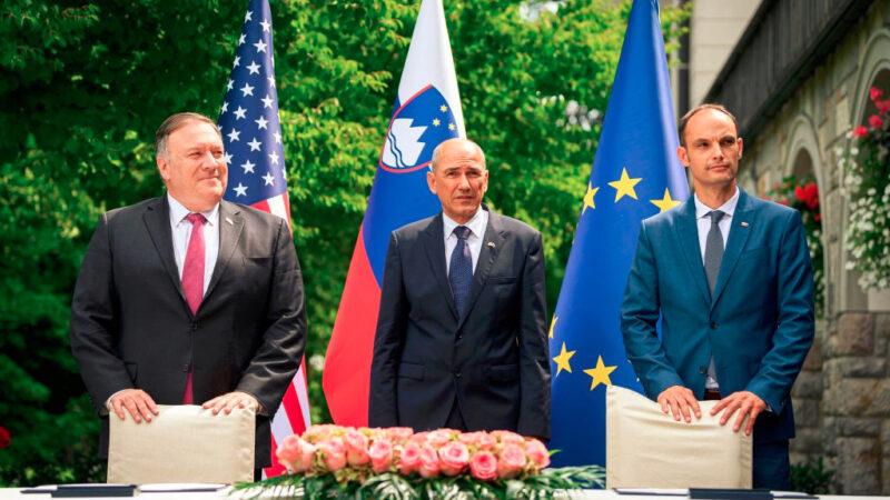 蓬佩奧訪歐打造「淨網」聯盟 阻中共滲透