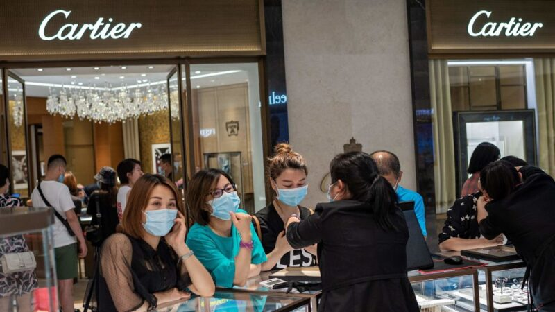 中共病毒 全球超過2124萬例確診逾76萬人喪生