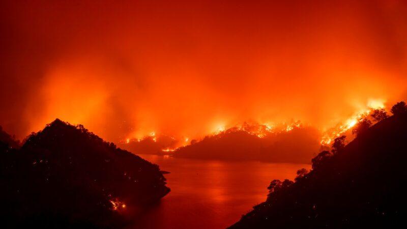 高温闪电袭击 加州大小野火共560处已夺6命