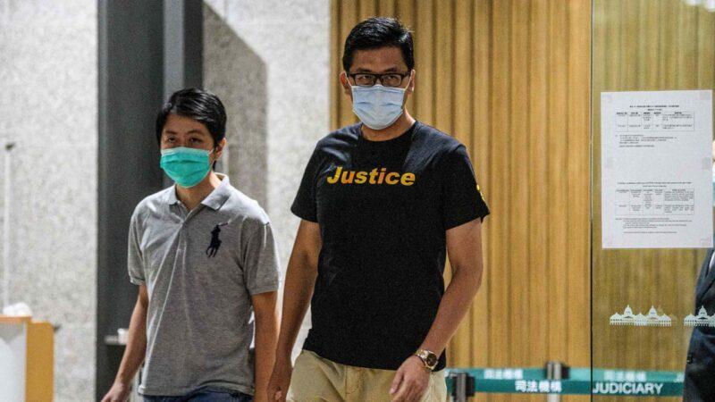 香港2立法会议员获保释 黄之锋吁守护真相