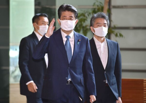【重播】健康恶化 日本首相安倍晋三请辞待命