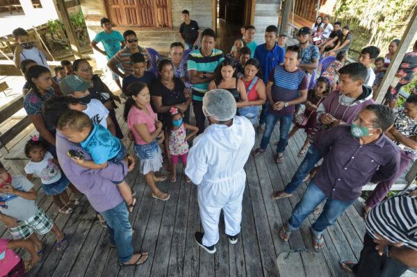 巴西疫情蔓延內地 染疫新增5.2萬例