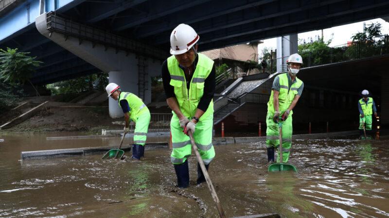 7年来最长雨季 韩国已酿15死逾千人受灾