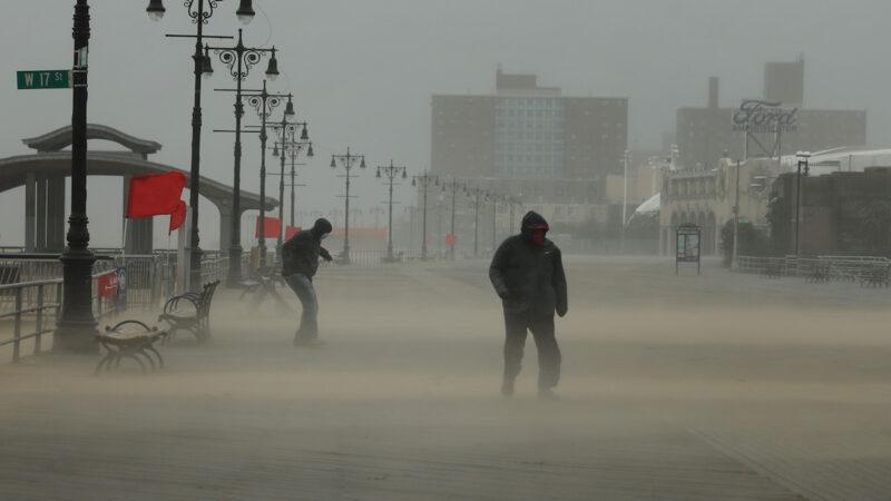 颶風襲捲美東岸 多州龍捲風 60萬戶停電