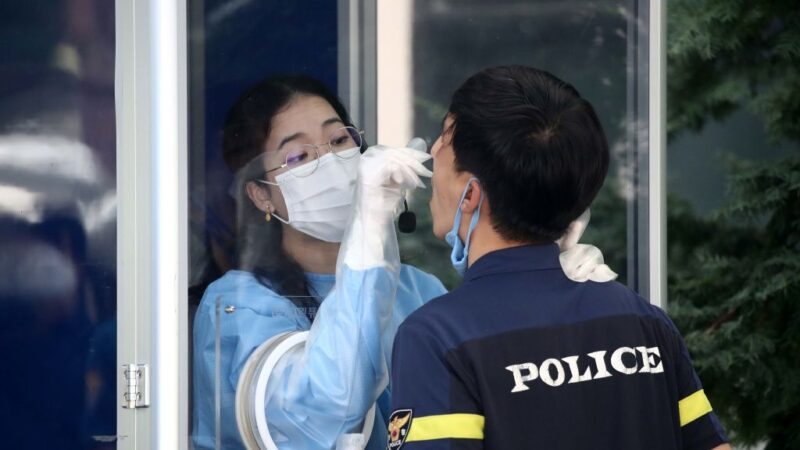 單日確診創3月來新高 韓國瀕全國性大流行