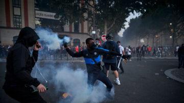 歐冠決賽封閉香榭大道 巴黎飲恨爆警民衝突