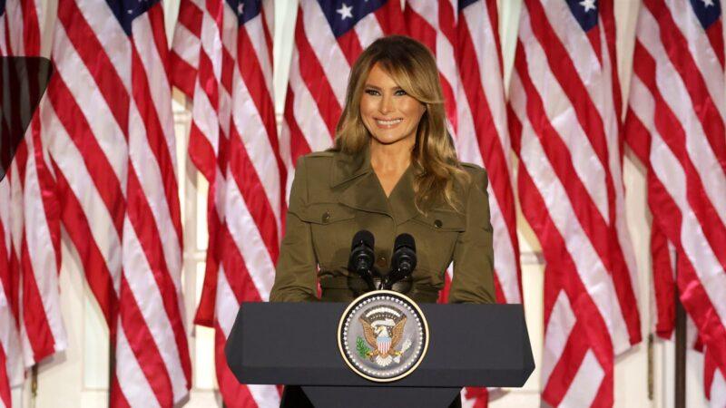 美國第一夫人詮釋四重角色 支持川普連任