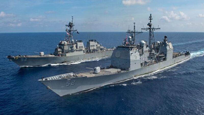 美舰越台海中线,中共承认中华民国?