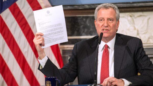 批纽约警察改革政治作秀 18警察工会联合起诉市长