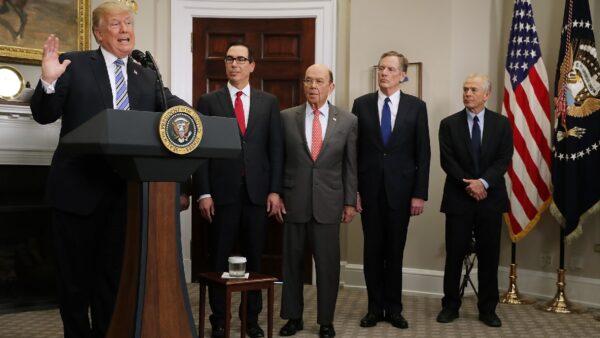 美财长:司法部认可川普行政令 不怕民主党起诉