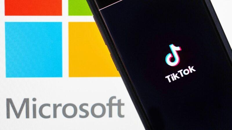 微軟收購TikTok再遭質疑 被曝與共軍代理合作