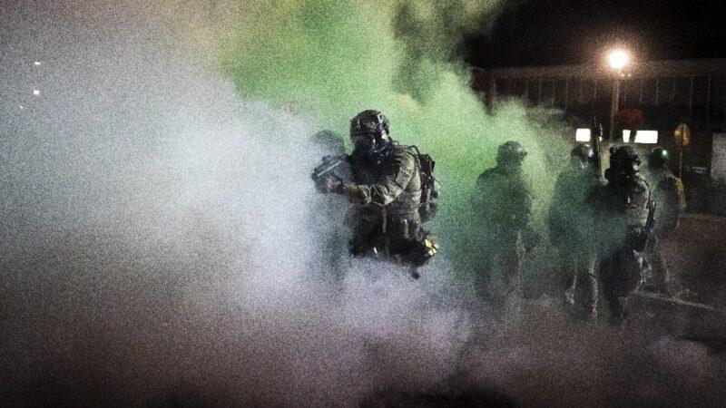 基諾沙暴亂平息 川普籲波特蘭效法接受援助