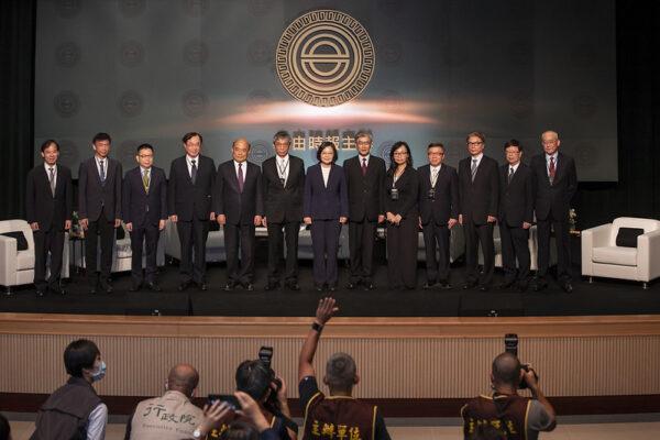蔡英文:台灣掌握兩大優勢 盼成亞洲資金調度中心