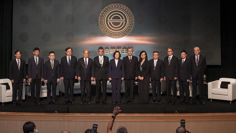蔡英文:台湾掌握两大优势 盼成亚洲资金调度中心