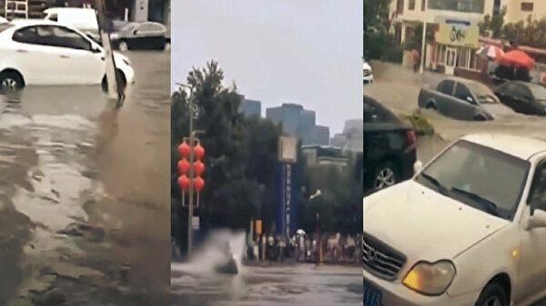 汛情北上 北京天津同日開啟「看海」模式(視頻)