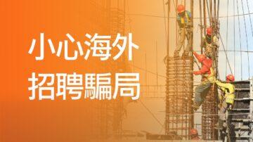 【加國生活】小心海外招聘騙局