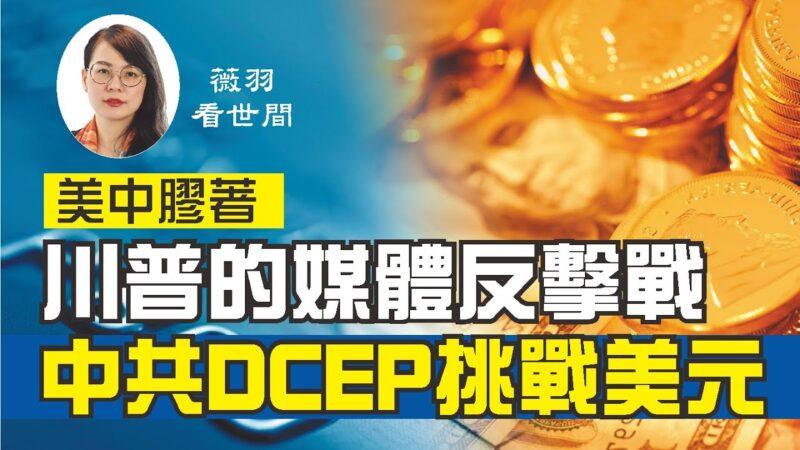 【薇羽看世间】川普的媒体反击战 中共DCEP挑战美元