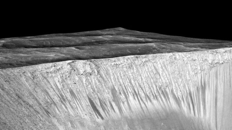 """火星上有水?还出现了""""羊群""""?"""