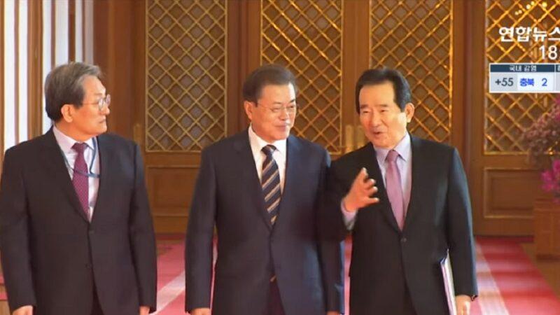 韩国总理与总统才会面 总理府官员传染疫