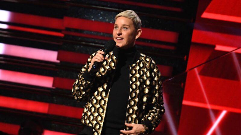 美国《艾伦秀》涉双面丑闻 主持人公开道歉