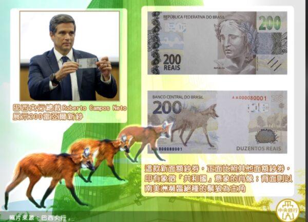 疫情爆發現金需求增加 巴西發行大面額新鈔
