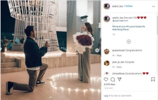 呂銳向女友求婚成功