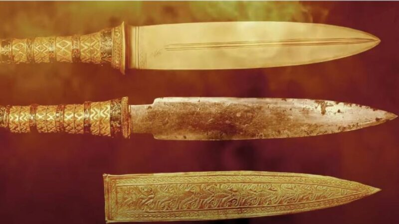 古埃及法老陪葬匕首是外星隕石打造?千年不鏽!