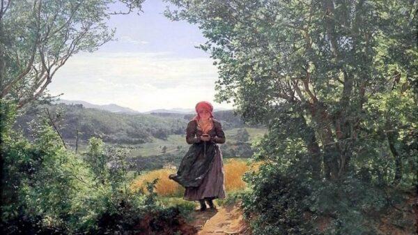 19世紀的油畫中驚現智能手機!是時空穿越嗎?