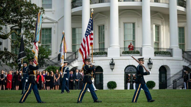 【重播】川普总统及夫人参加911十九周年纪念仪式