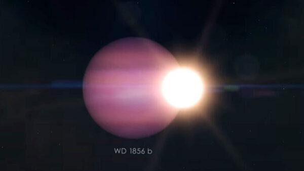 天文奇觀!一顆行星繞死星運行 詭異畫面曝光