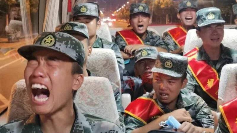 邊境衝突不斷緊急徵兵?  中共新兵痛哭影片瘋傳