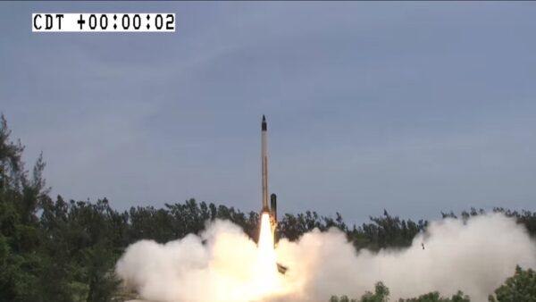 速度達音速6倍 印度試射極音速飛行器成功