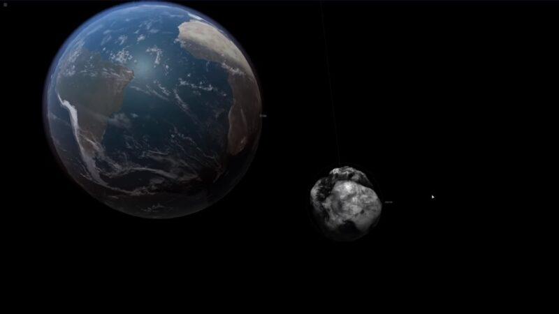 兩顆近地小行星 9月25日穿越地球軌道