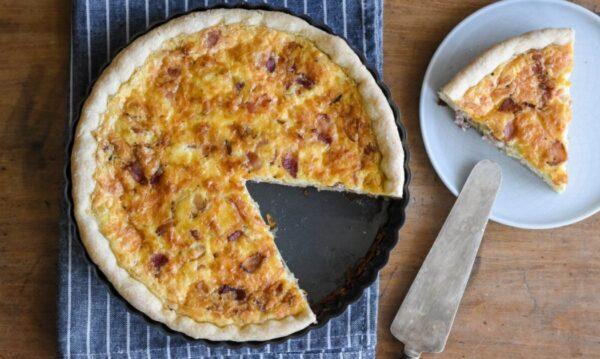 經典法式洛林乳蛋餅(組圖)