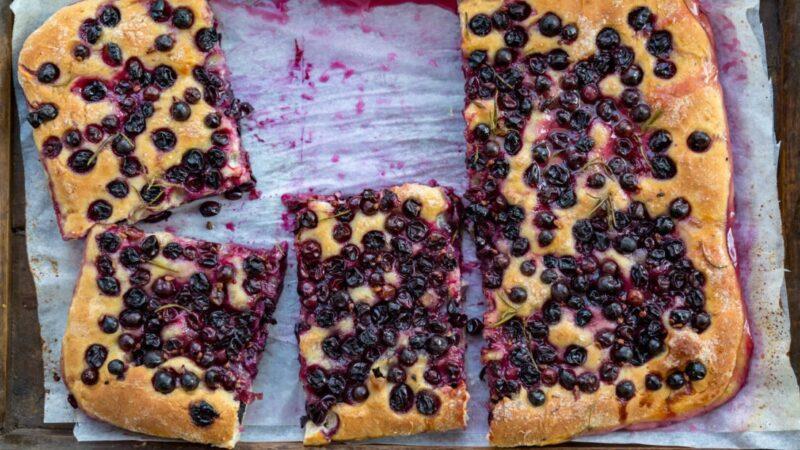 慶祝葡萄豐收 傳統意式葡萄薄餅(組圖)