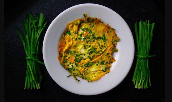 韭菜煎蛋 快速簡單的美味(組圖)