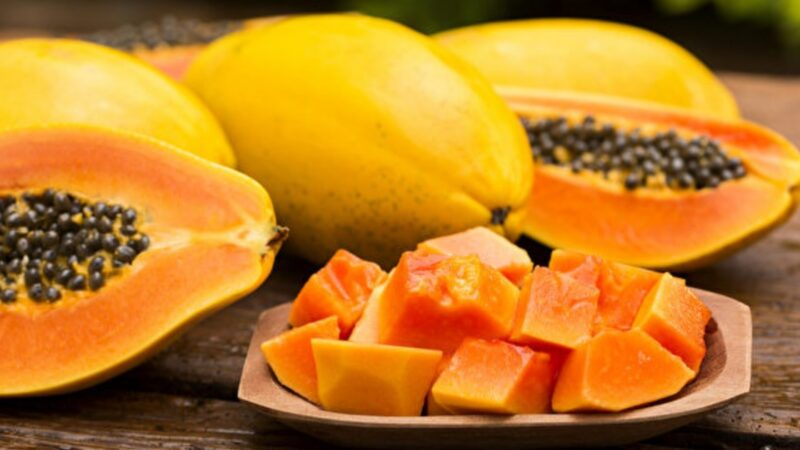 木瓜防癌护心血管 果肉是抗氧化宝库 2关键挑选