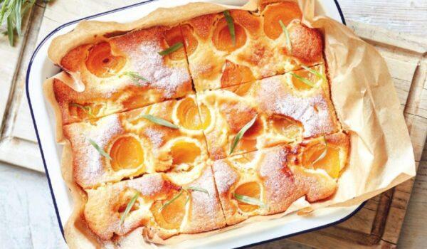 杏子酸奶蛋糕 各種新鮮水果完美搭配(組圖)