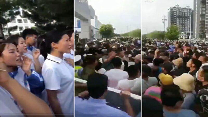 内蒙局势升级 传大量装甲车现身街头(多视频)